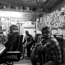 Rockford - Recording Session, Studio 195 Wernhout // Photography: Reijer van Kasteren